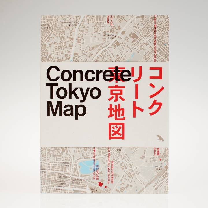Image of Concrete Tokyo Map