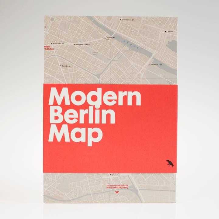 Image of Modern Berlin Map