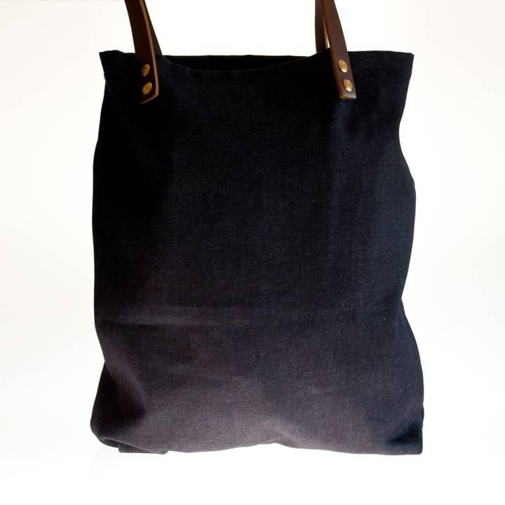 Image of Indigo Denim Tote Bag