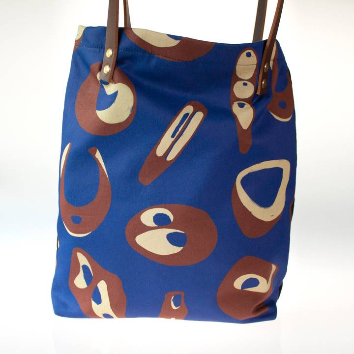 Image of Hepworth Tote Bag in Colbalt Blue