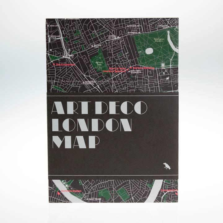 Image of Art Deco London Map