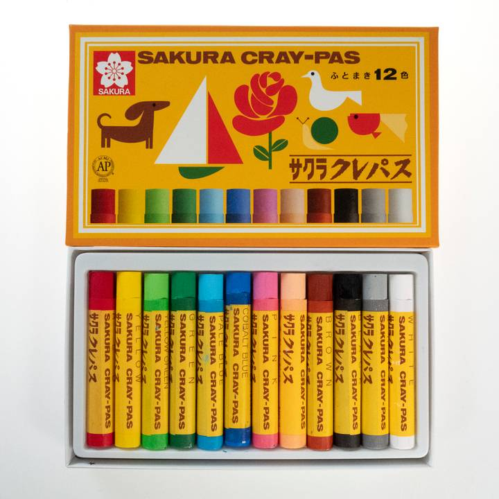 Image of Japanese Colouring Crayons