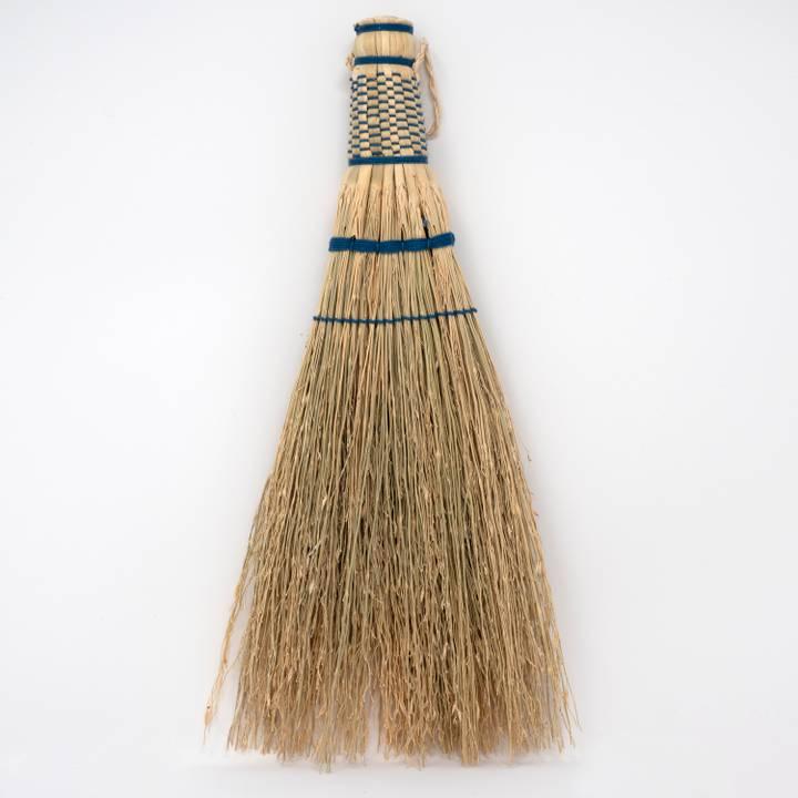 Image of Sorghum Handbroom Medium Indigo