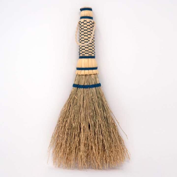 Image of Japanese Sorghum Tabletop Brush Indigo