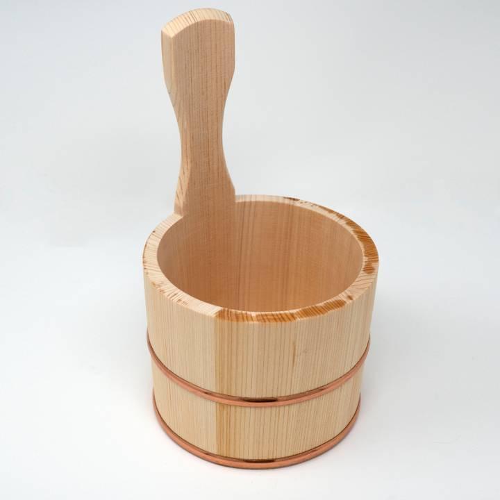 Image of Oke Bath Bowl with Handle