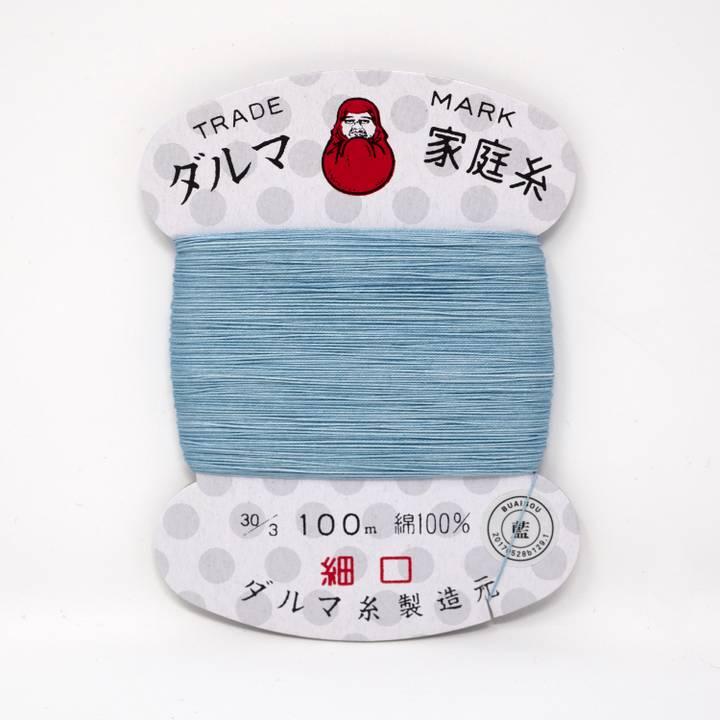 Image of BUAISOU Sewing Thread: Light Blue Indigo