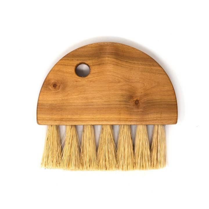 Image of Table Brush: Cherry Wood & Tampico