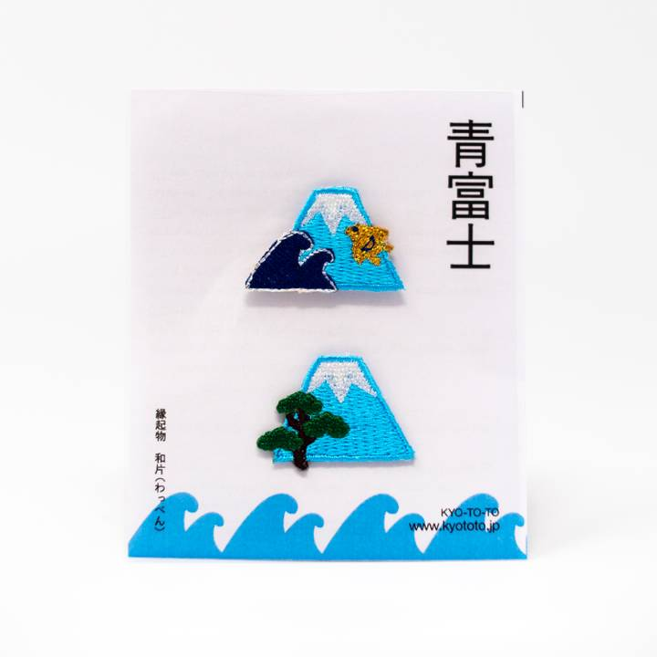 Image of Mount Fuji Embroidered Patch