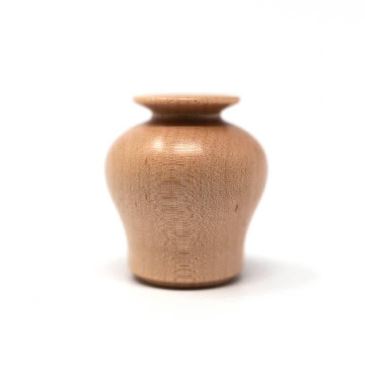 Image of Miniature Wooden Vase: Uzukumaru