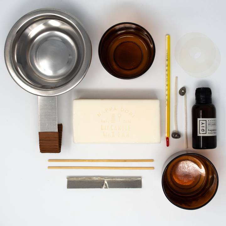Image of DIY Candle Kit: Amber Wood