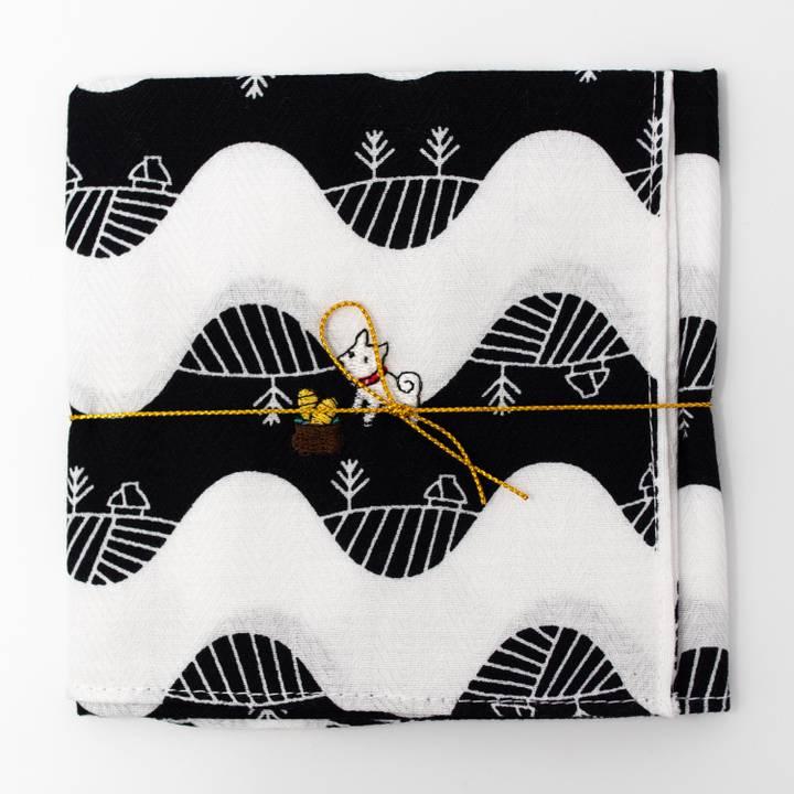 Image of Pochi the Dog Handkerchief