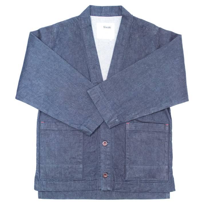 Image of Japanese Selvedge Denim Workwear Jacket