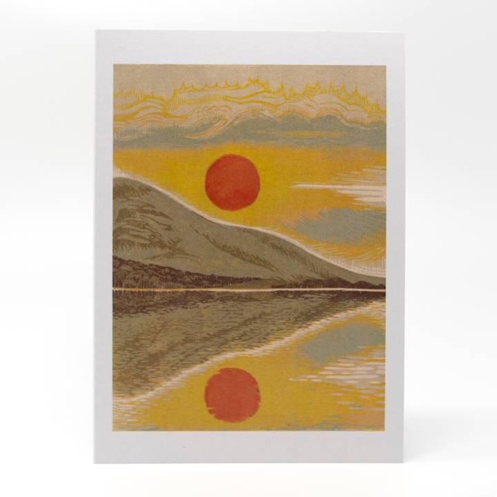 Image of Evening's Reward Greeting Card