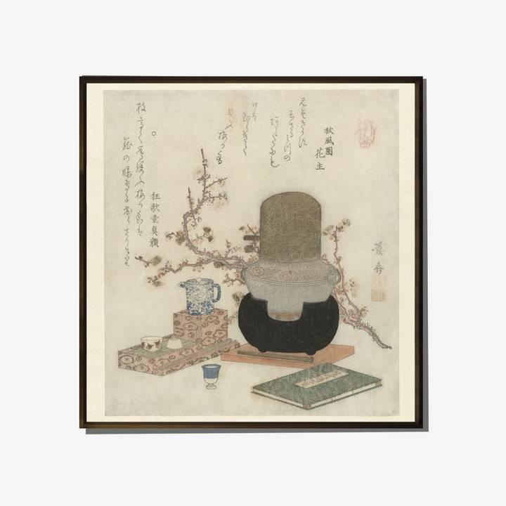 Image of Making Plum Sake Print