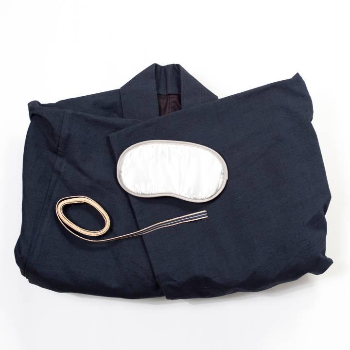 Image of Kimono Gift Set: Navy Cotton