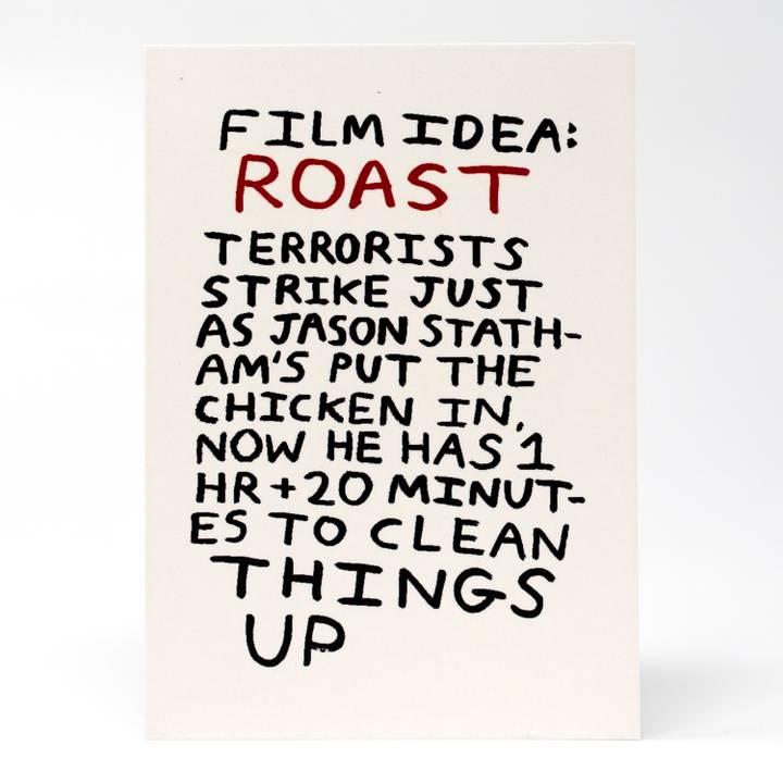 Image of Roast Greeting Card