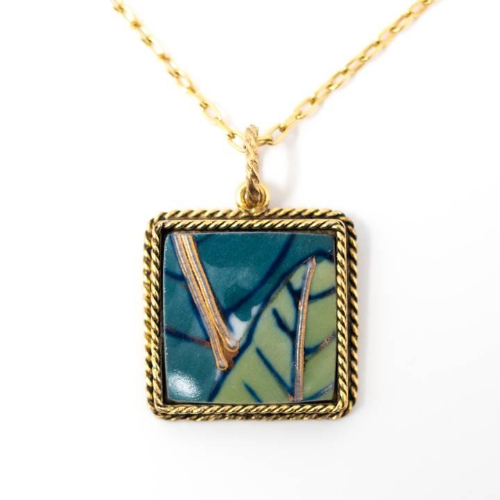 Image of Ryokuin Aki Gold Necklace