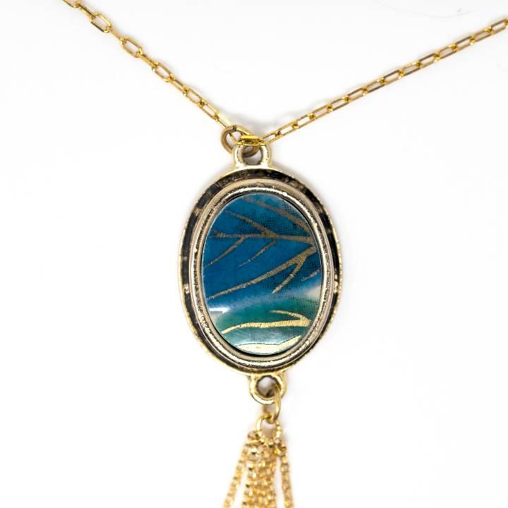 Image of Ryokuin Gold Tassel Necklace