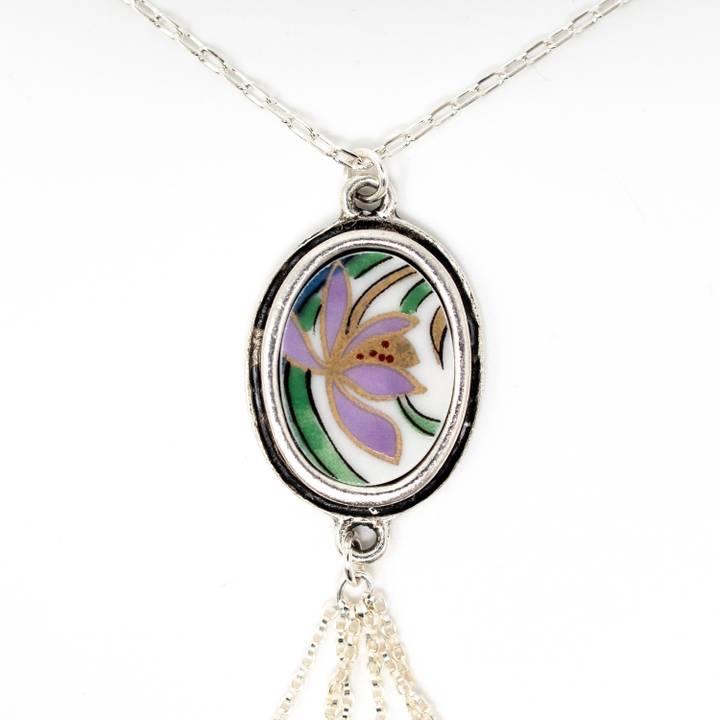 Image of Yuri Silver Tassel Necklace