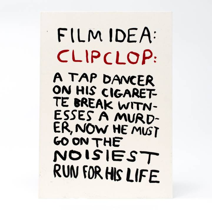 Image of Clip Clop Greeting Card