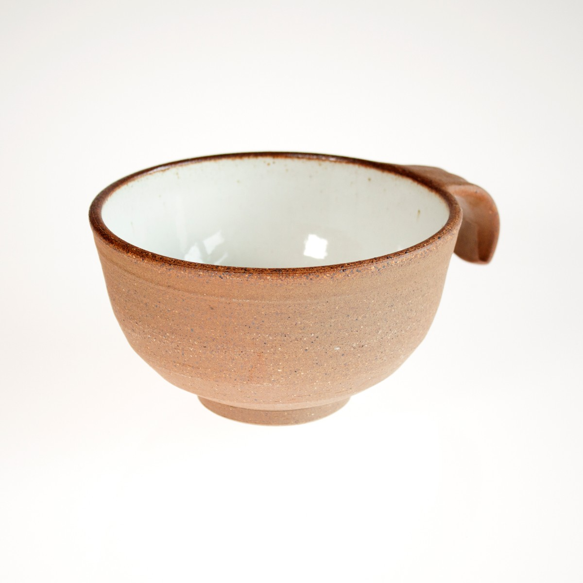 Photo of Woodfired Soup Bowl with Handle