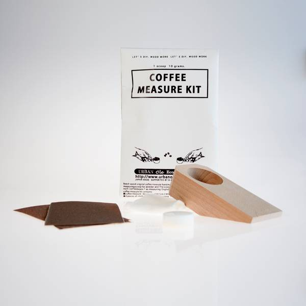Image of Japanese Coffee Measure Whittling Kit