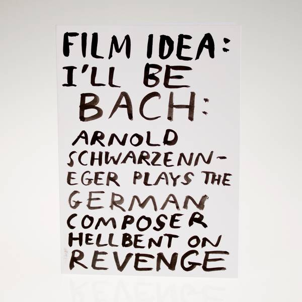 Image of I'll Be Bach Greeting Card