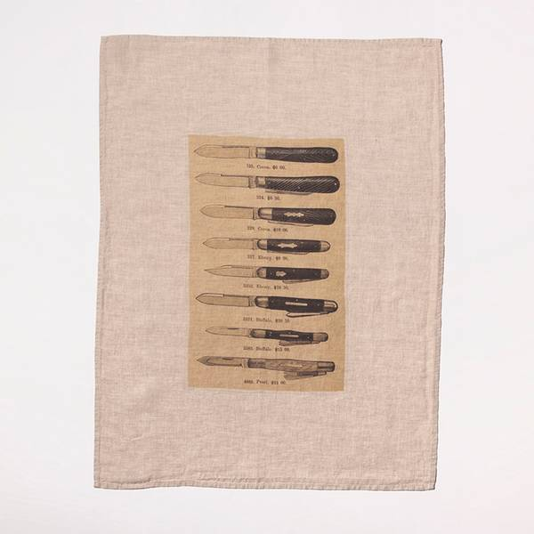 Image of The Knives Tea Towel