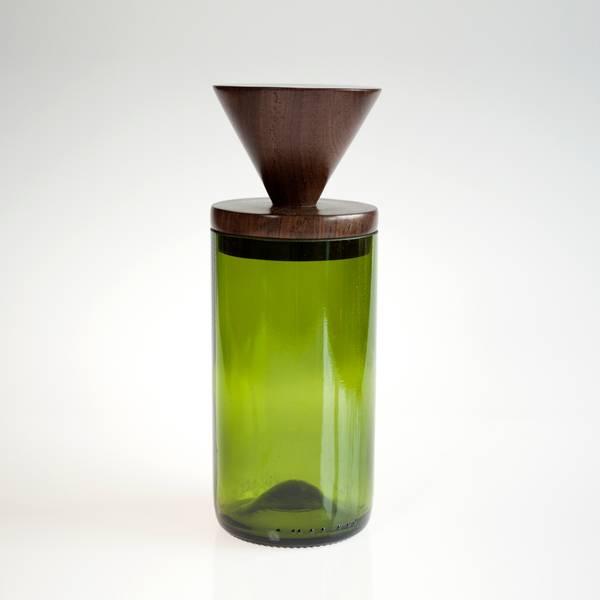 Image of Inverted Green MidMod Jar