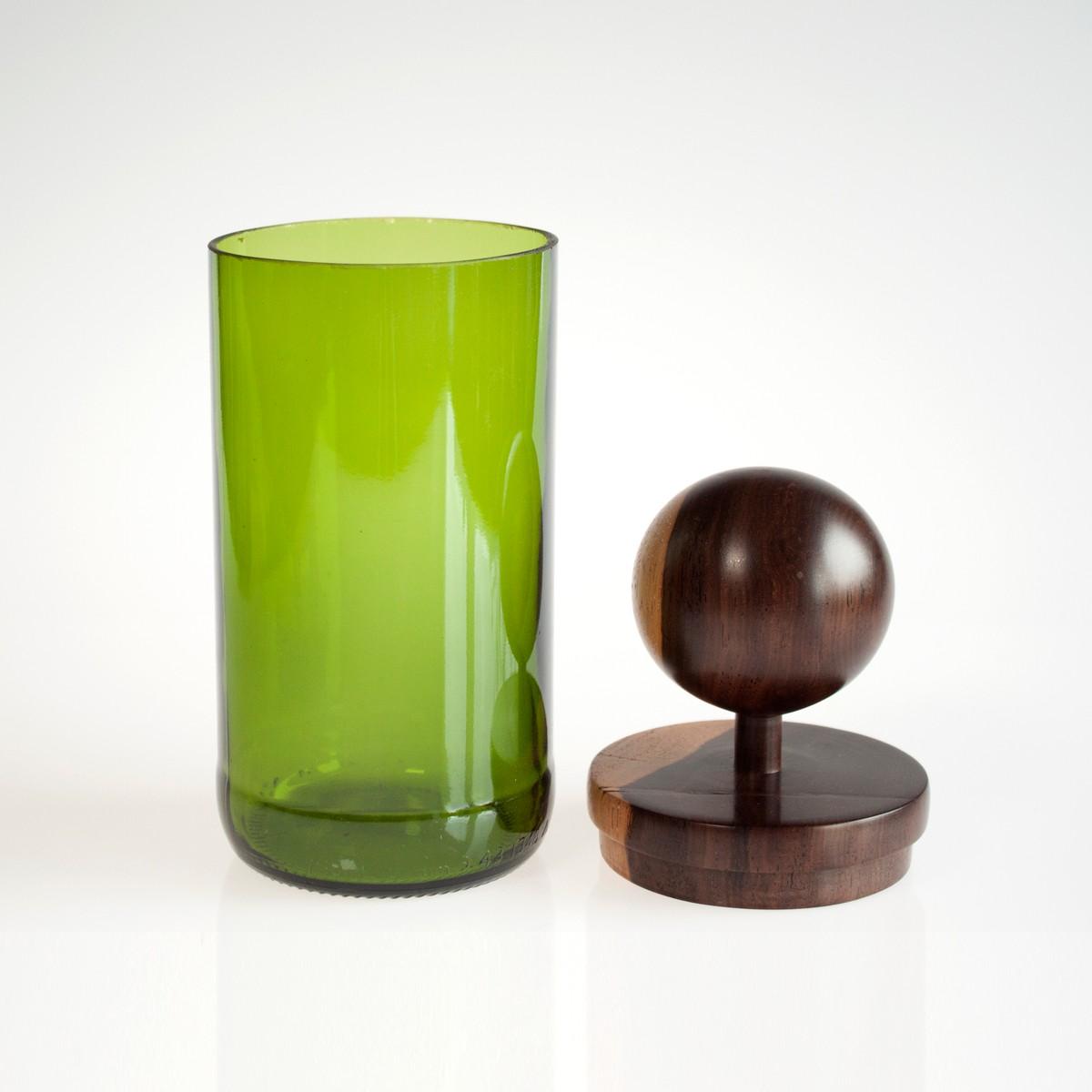 Photo of Sphere Green MidMod Jar