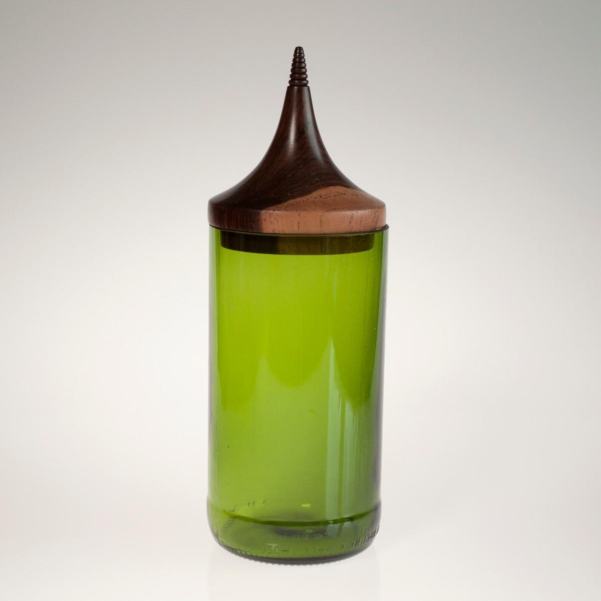 Photo of Triangle Green MidMod Jar