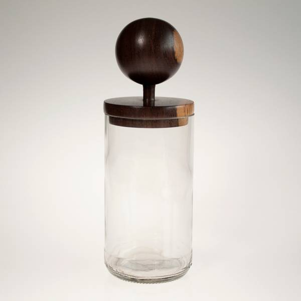 Image of Sphere Clear MidMod Jar