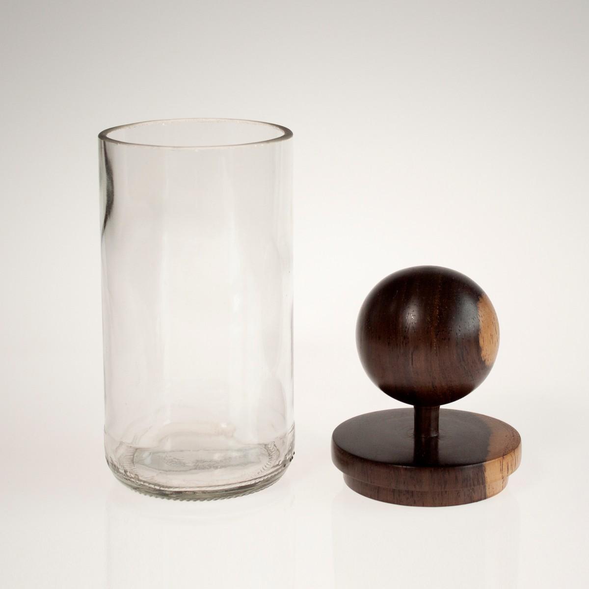Photo of Sphere Clear MidMod Jar