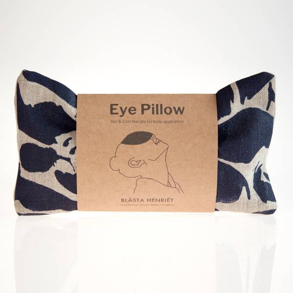 Image of Indigo Linen Eye Pillow