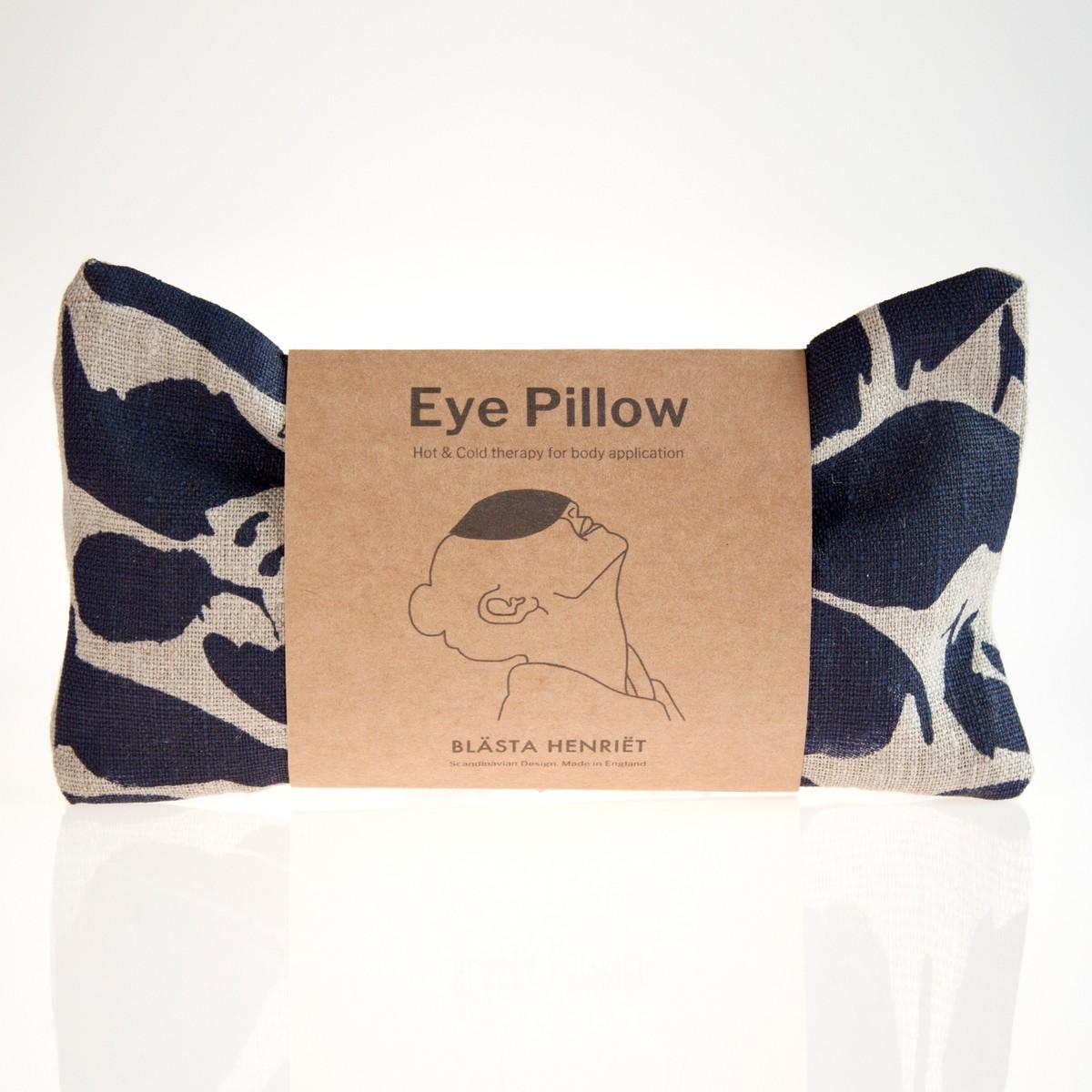 Photo of Indigo Linen Eye Pillow