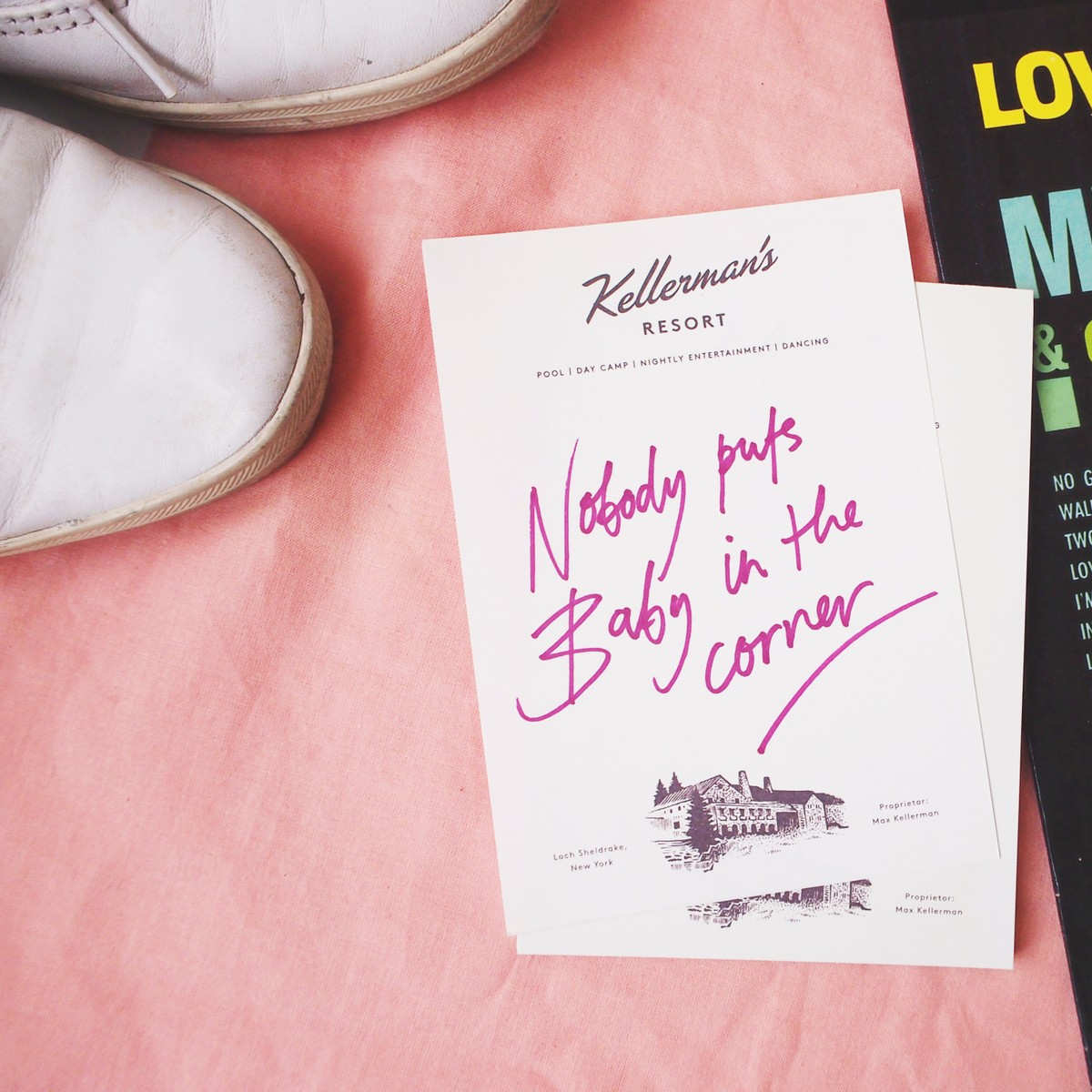 Photo of Dirty Dancing Hotel Notebook