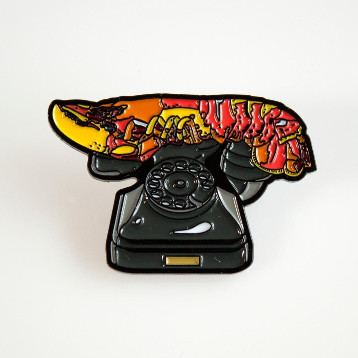 Photo of Dali Lobster Telephone Enamel Pin