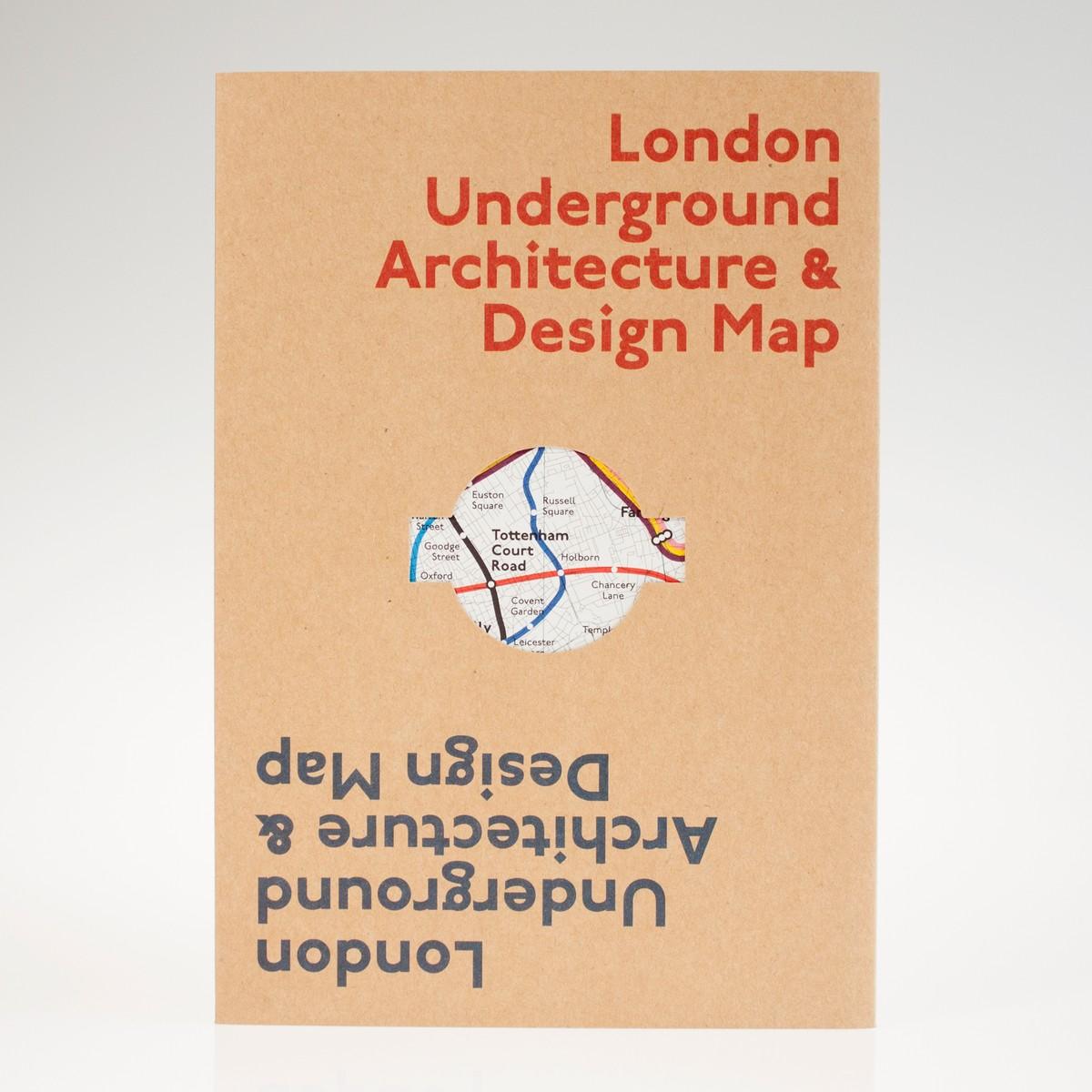 Photo of London Underground Architecture Map