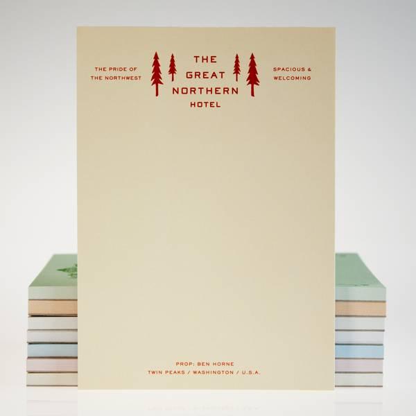 Image of Twin Peaks Hotel Notebook