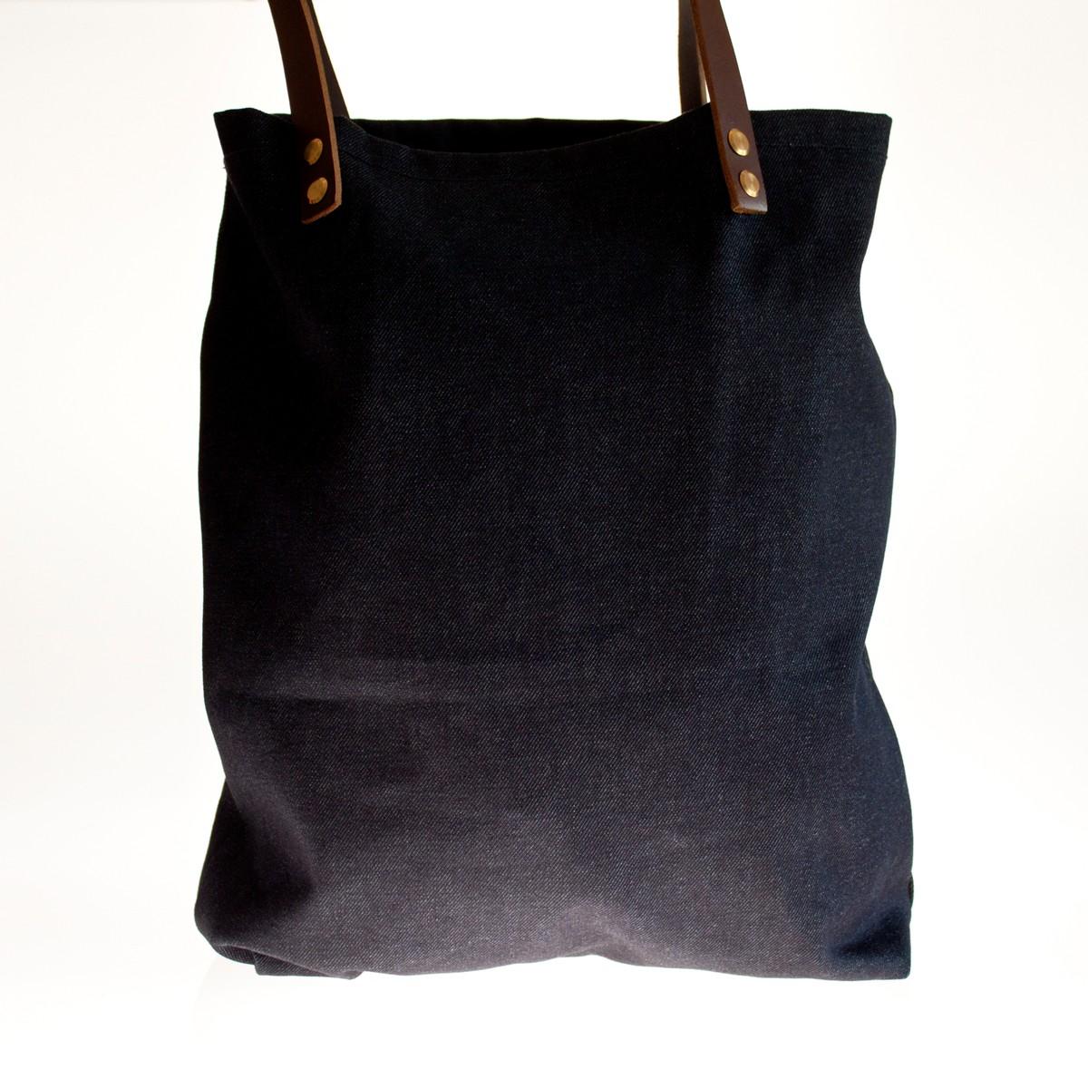Photo of Indigo Denim Tote Bag