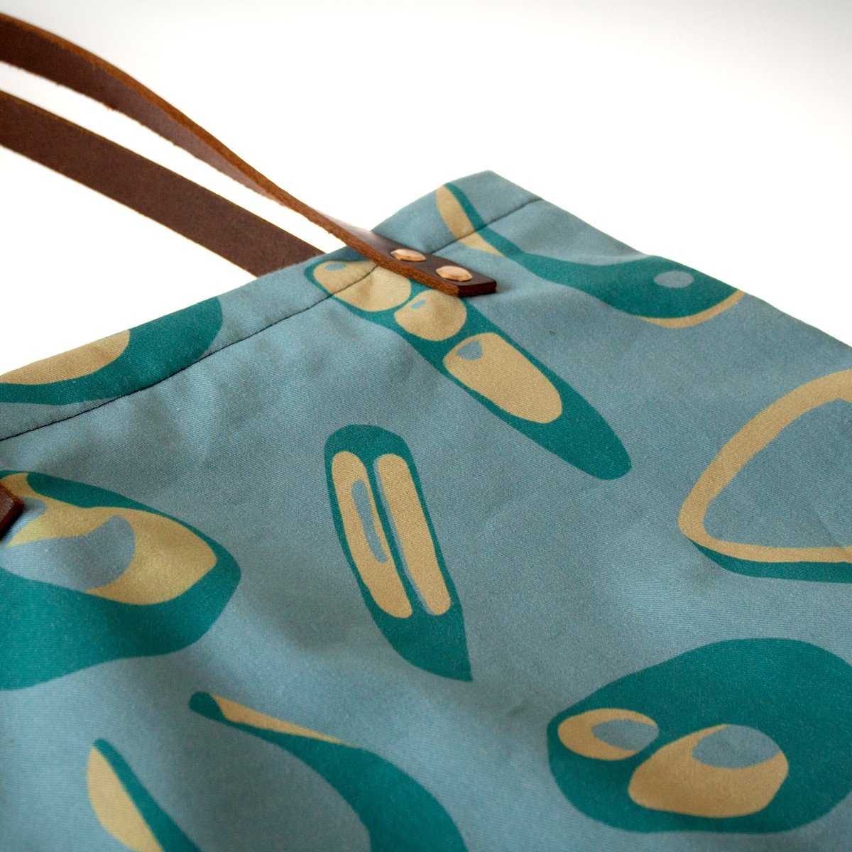 Photo of Hepworth Tote Bag in Sea Blue