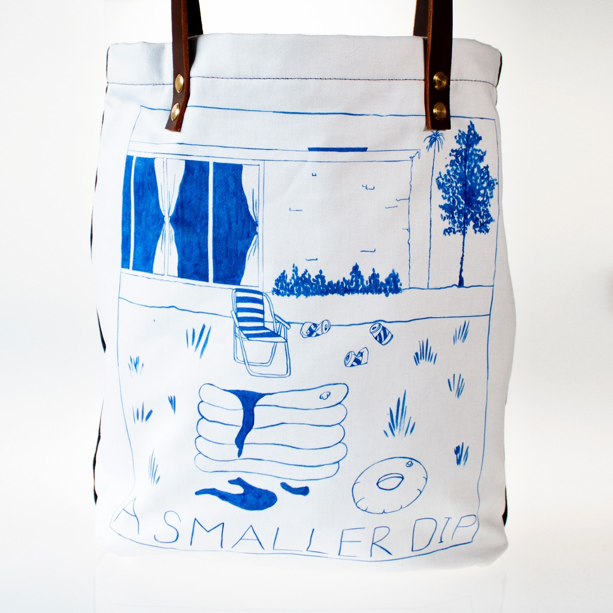 Photo of A Smaller Dip Tote Bag