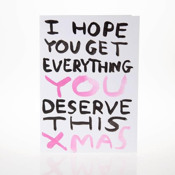 Image of Christmas Greeting Card
