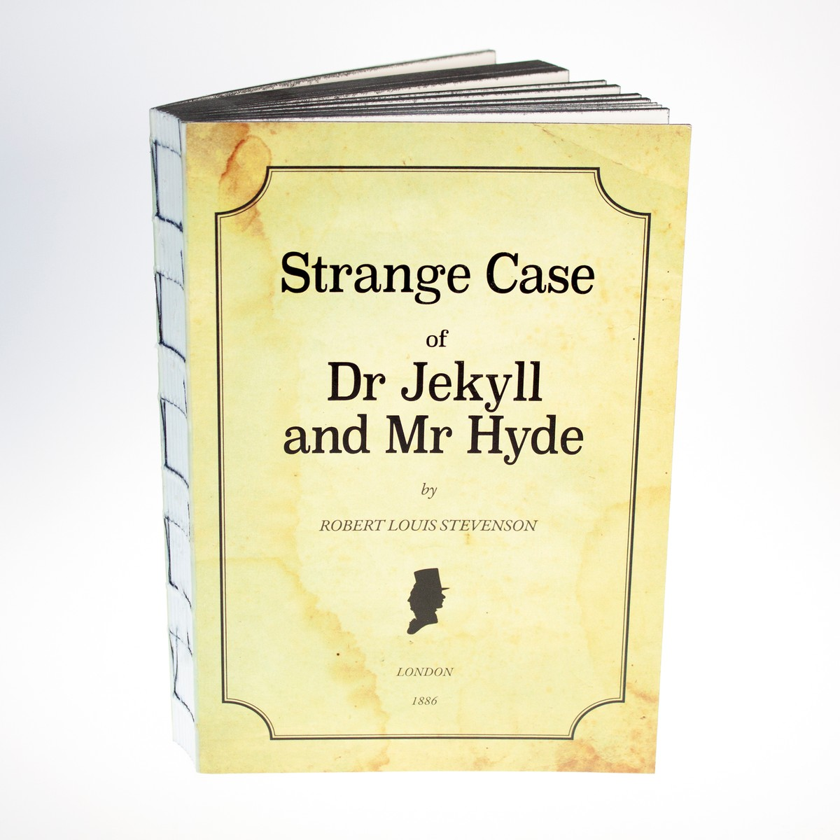 Photo of Jekyll and Hyde Notebook