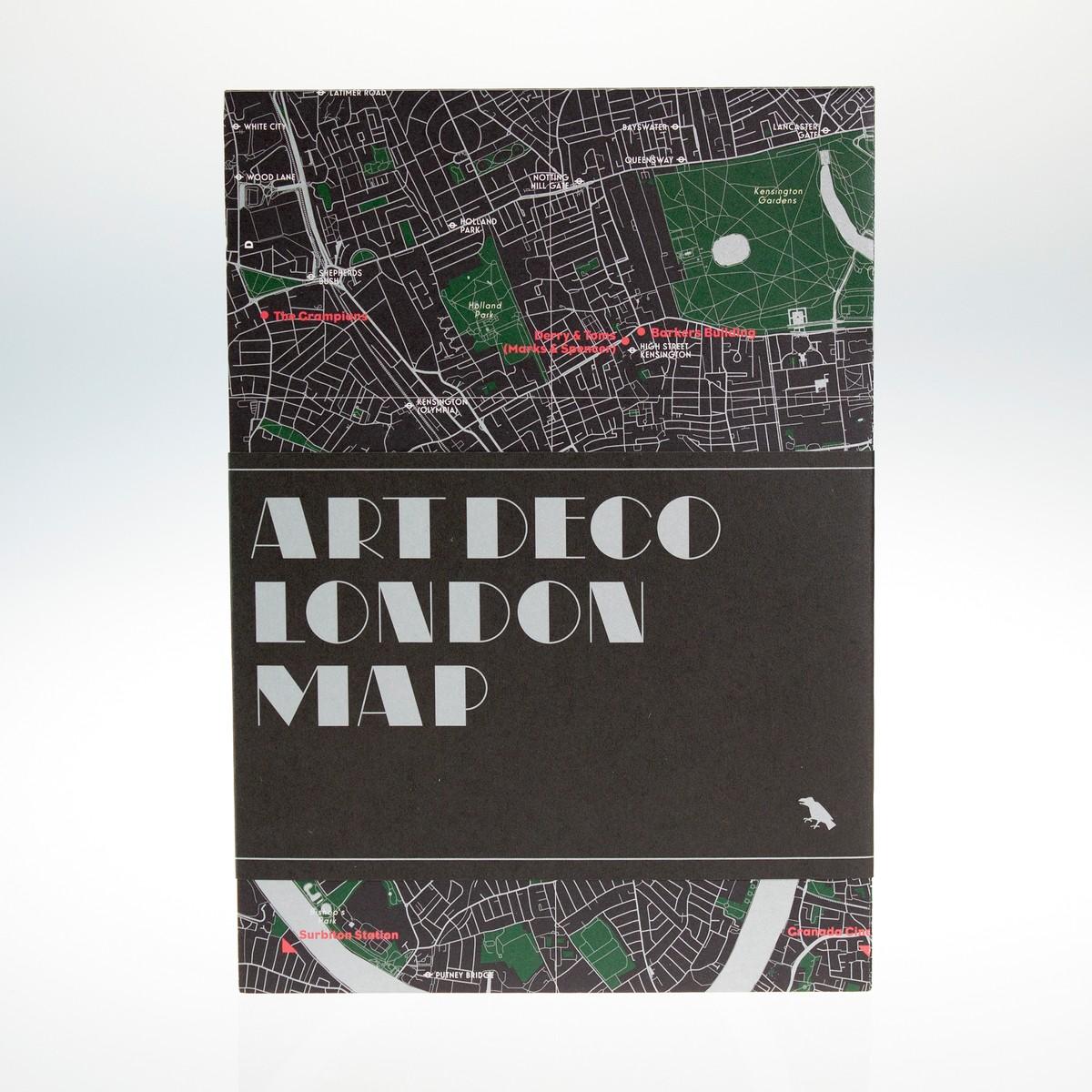 Photo of Art Deco London Map