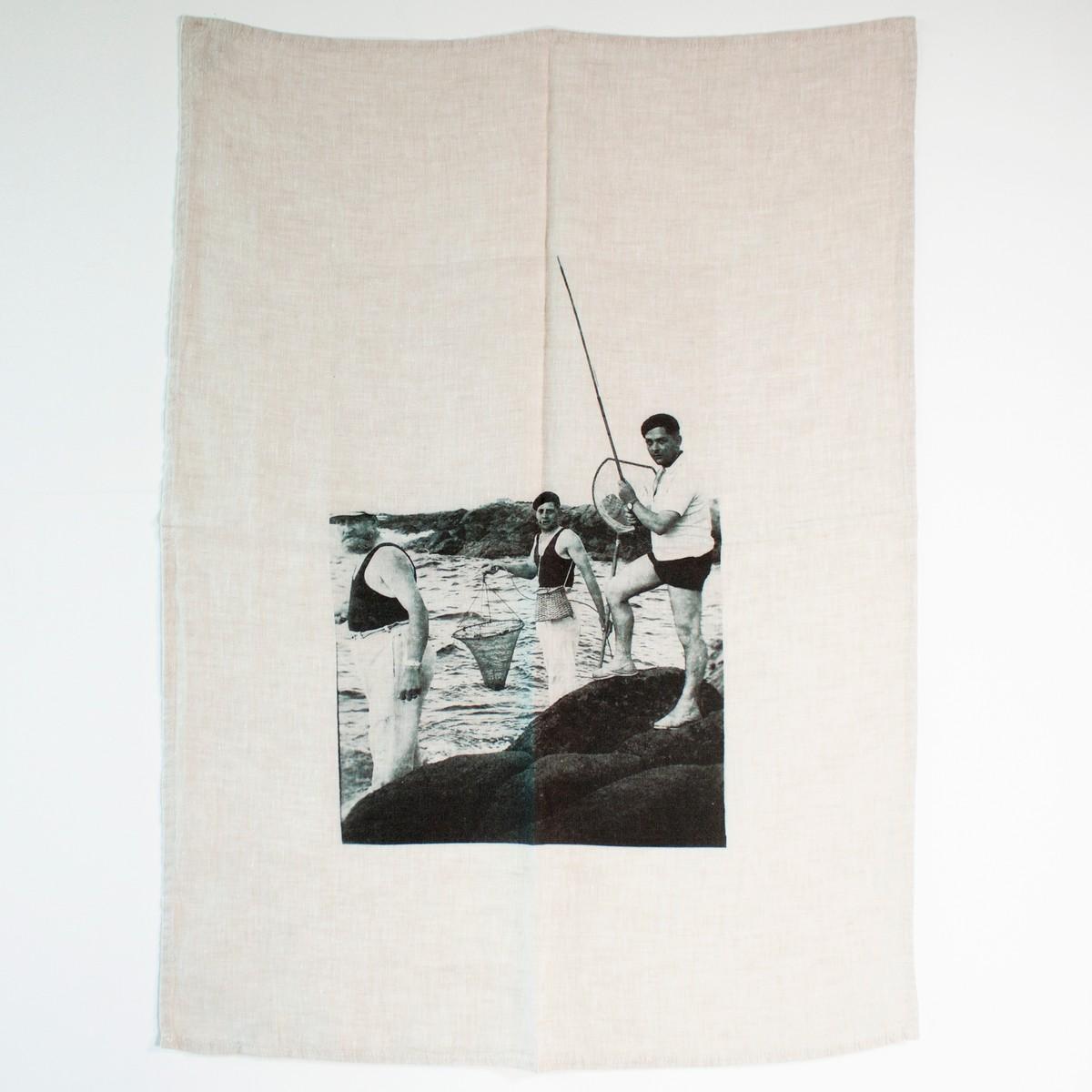 Photo of The Fishermen Tea Towel