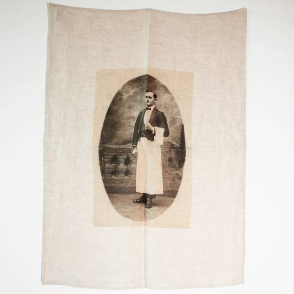 Image of The Waiter Tea Towel