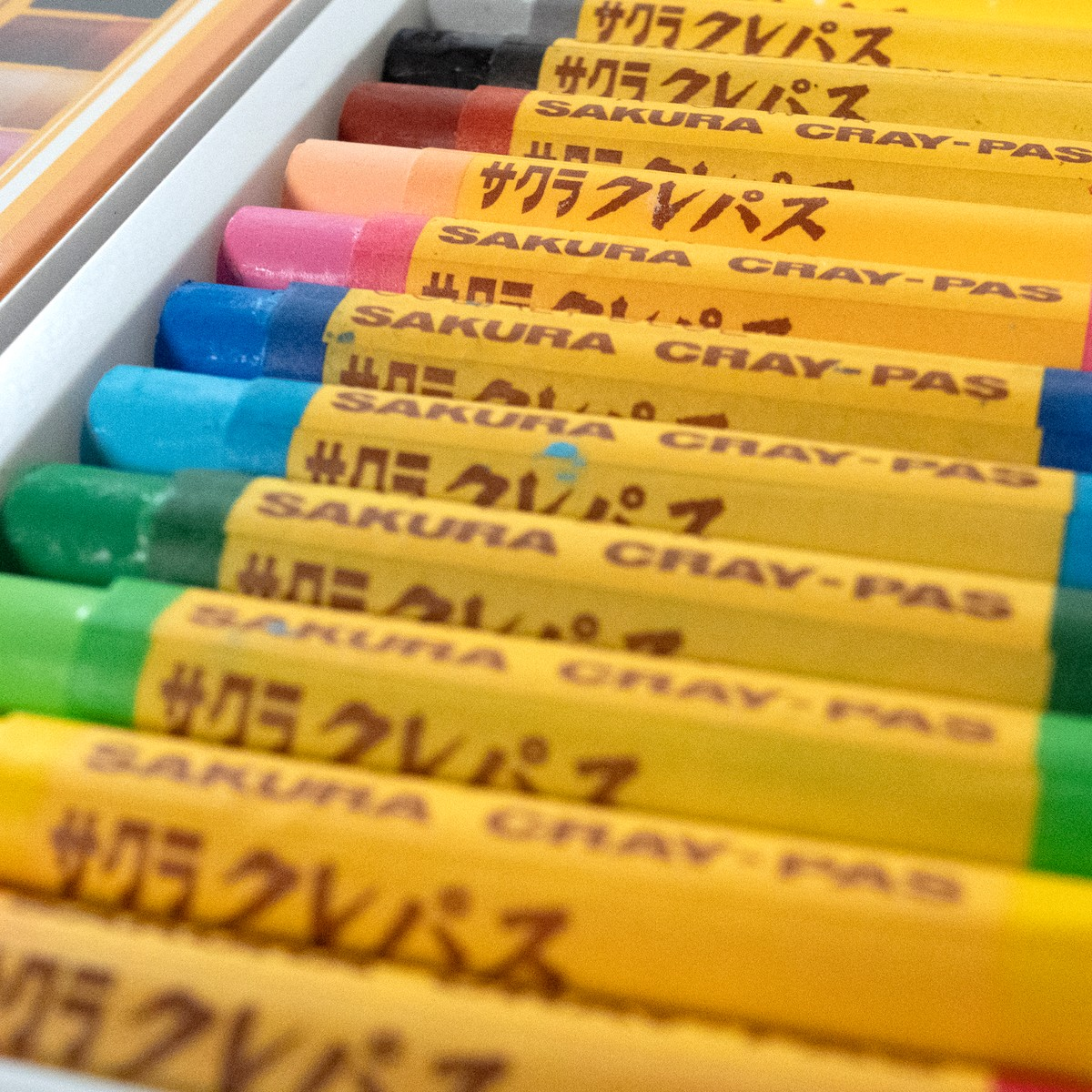 Photo of Japanese Colouring Crayons