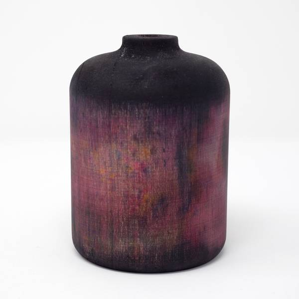 Image of Hand Dyed Maple Wood Vase