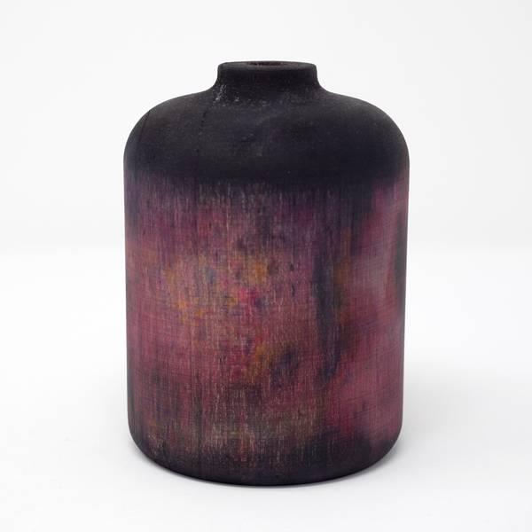 Image of Hand Dyed Maple Wood Vase